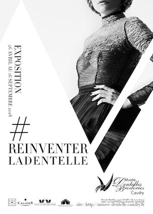 #Réinventer la dentelle ! Exposition du 27 avril au 16 septembre à Caudry (59)
