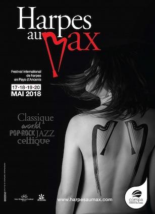 Festival international Harpes au Max du 17 au 20 mai 2018 en Pays d'Ancenis