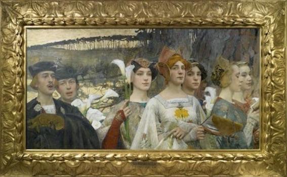 Edgar Maxence (1871-1954), Les Fleurs du lac