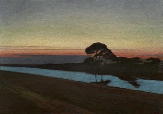 Charles-Marie Dulac (1865-1898), La Pinetta à Ravenne, 1897