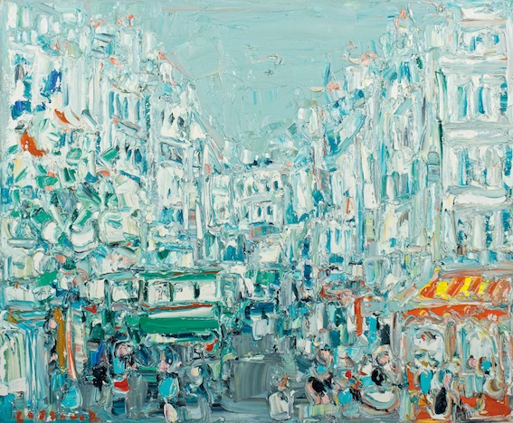 Lyon. «Peindre au plus près de mon émotion», Cottavoz à la galerie Estades du 26 mai au 30 juin 2018