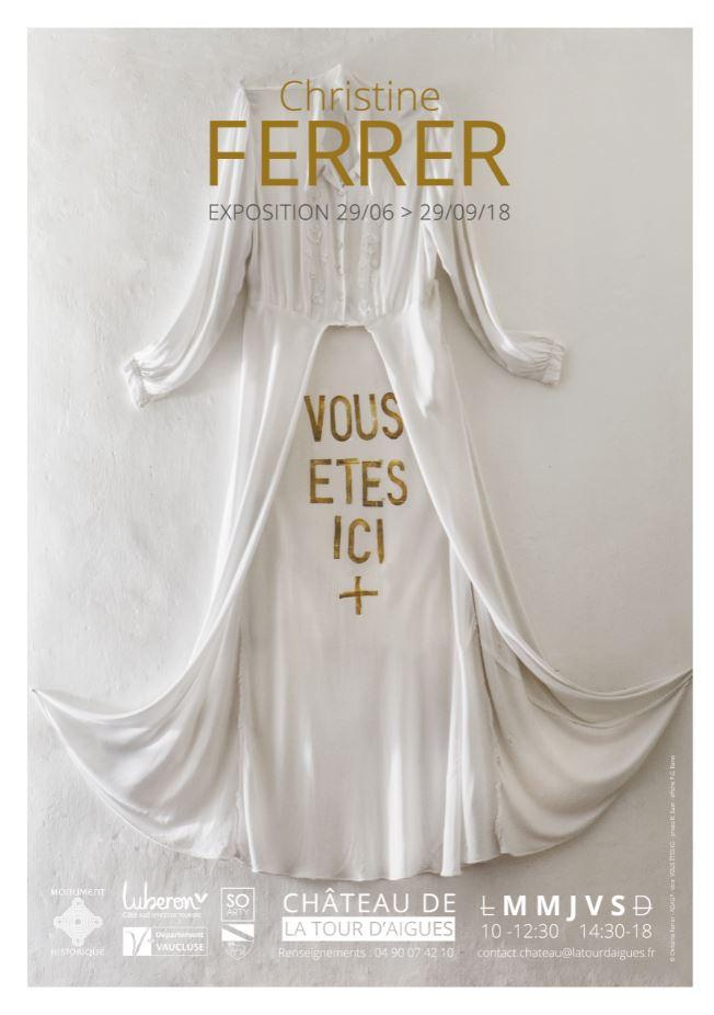 « Vous êtes ici », exposition du 29 juin au 29 septembre, château de la Tour d'Aigues