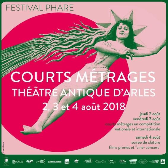 Arles, 3e édition du Festival Phare de courts métrages au Théâtre Antique