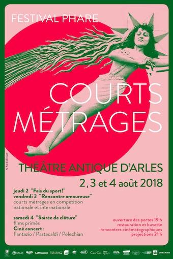 Festival Phare au Théâtre Antique d'Arles, du 2 au 4 août 2018