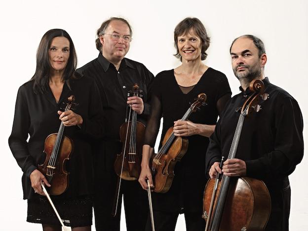 Quatuor Mosaïques le 14 septembre à Seillans © Wolfgang Krautzer
