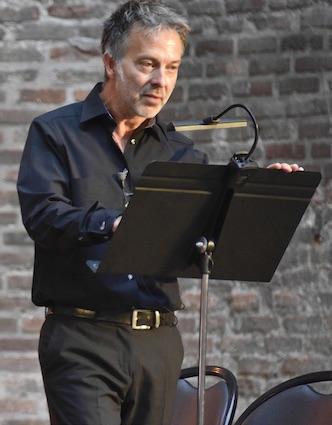 Régis Goudot, récitant © DR