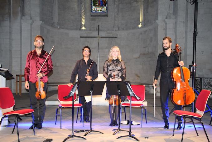 Quatuor Guimaraès © Pierre Aimar