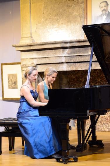 Irina Chkourindina et Magali Lauron © DR