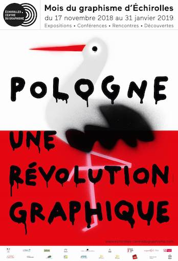 Mois du graphisme d'Échirolles «Pologne une révolution graphique» du 17 novembre 2018 au 31 janvier 2019