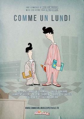 Tournon, ciné-théâtre : « Comme  un  lundi », d'Axel Senequier, jeudi 11 octobre 2018
