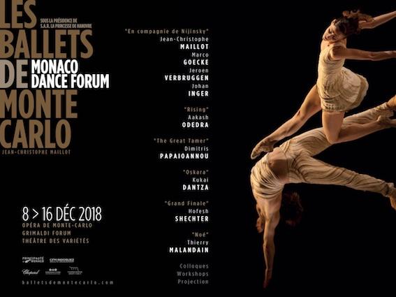 Festival du Monaco Dance Forum du 8 au 16 Décembre à Monaco