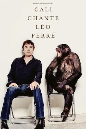 Marseille, Théâtre Toursky : Cali chante Léo Ferré et fait s'envoler des colombes