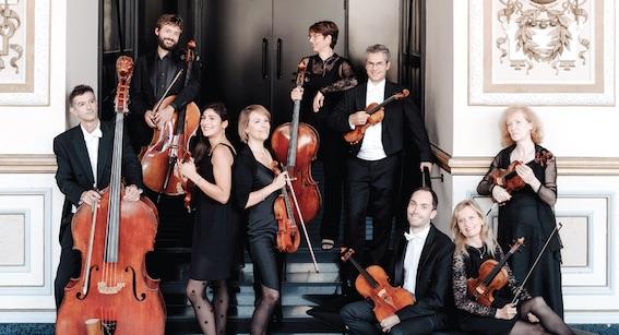 Octuor à cordes de l'opéra de Lyon ©Blandine Soulage-Rocca