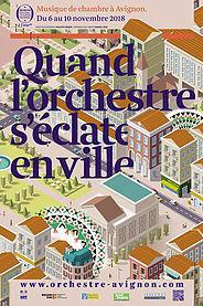 """Avignon, Musée Vouland : concert """"Quand l'orchestre s'éclate en ville… un duo à cordes fait une pause au musée !"""". Vendredi 9 novembre 2018 à 17h"""