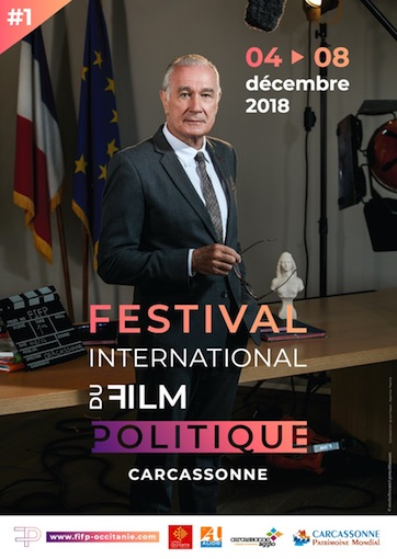 Carcassonne, Festival International du Film Politique du 4 au 8 décembre 2018