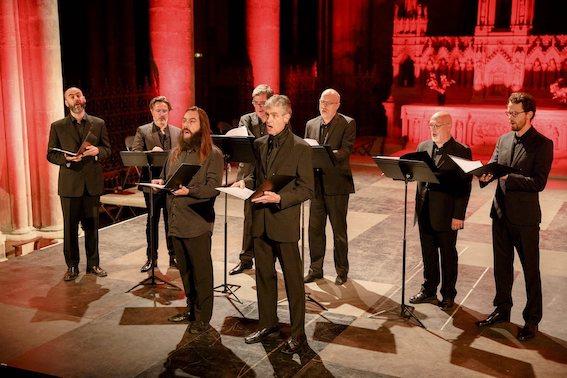 Tournon, Collégiale : Ensemble  Diabolus in Musica, samedi 22 décembre à  18 h