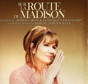 Marseille, Théâtre Toursky : Clémentine Célarié, magistrale, dans « Sur la route de Madison »