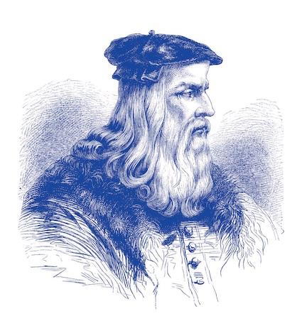 Leonardo da Vinci © DR