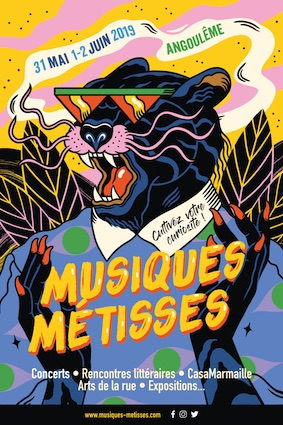 44e édition de Musiques Métisses, 31 mai, 1er et 2 juin 2019 à Angoulême