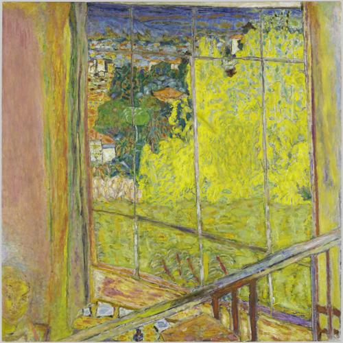 Pierre Bonnard (1867 - 1947) L'atelier au mimosa 1939-46