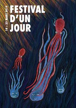 Rhône-Alpes, 25e édition du festival d'un jour ! du 18 au 23 mars 2019