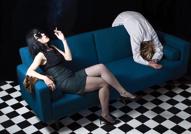 Aix-en-Provence, La Fontaine Obscure, exposition Mythologie d'Agnès Jouhandeaux du 5 au 23 février 2019