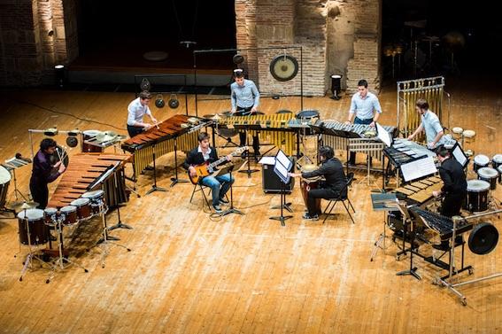 Toulouse, Auditorium Saint-Pierre des Cuisines, concert La Percu'Ose le 22 Février 2019 à 20:00