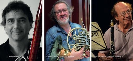 Carlo Colombo, André Cazalet, Michel Lethiec © DR