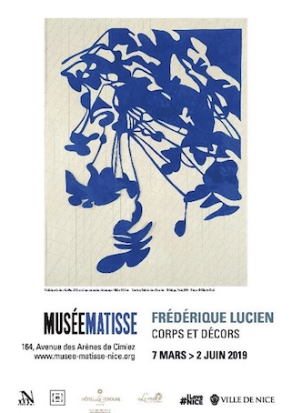 Frédérique Lucien, corps et décors, exposition du 7 mars au 2 juin 2019 au Musée Matisse, Nice