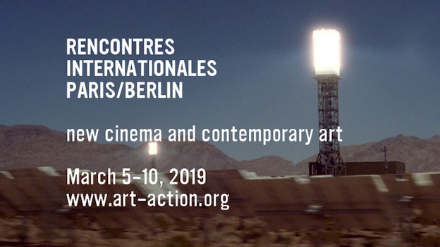 Rencontres internationales Paris/Berlin, 5-10 mars 2019