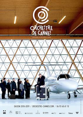 Orchestre de Cannes, programme de mars et avril 2019
