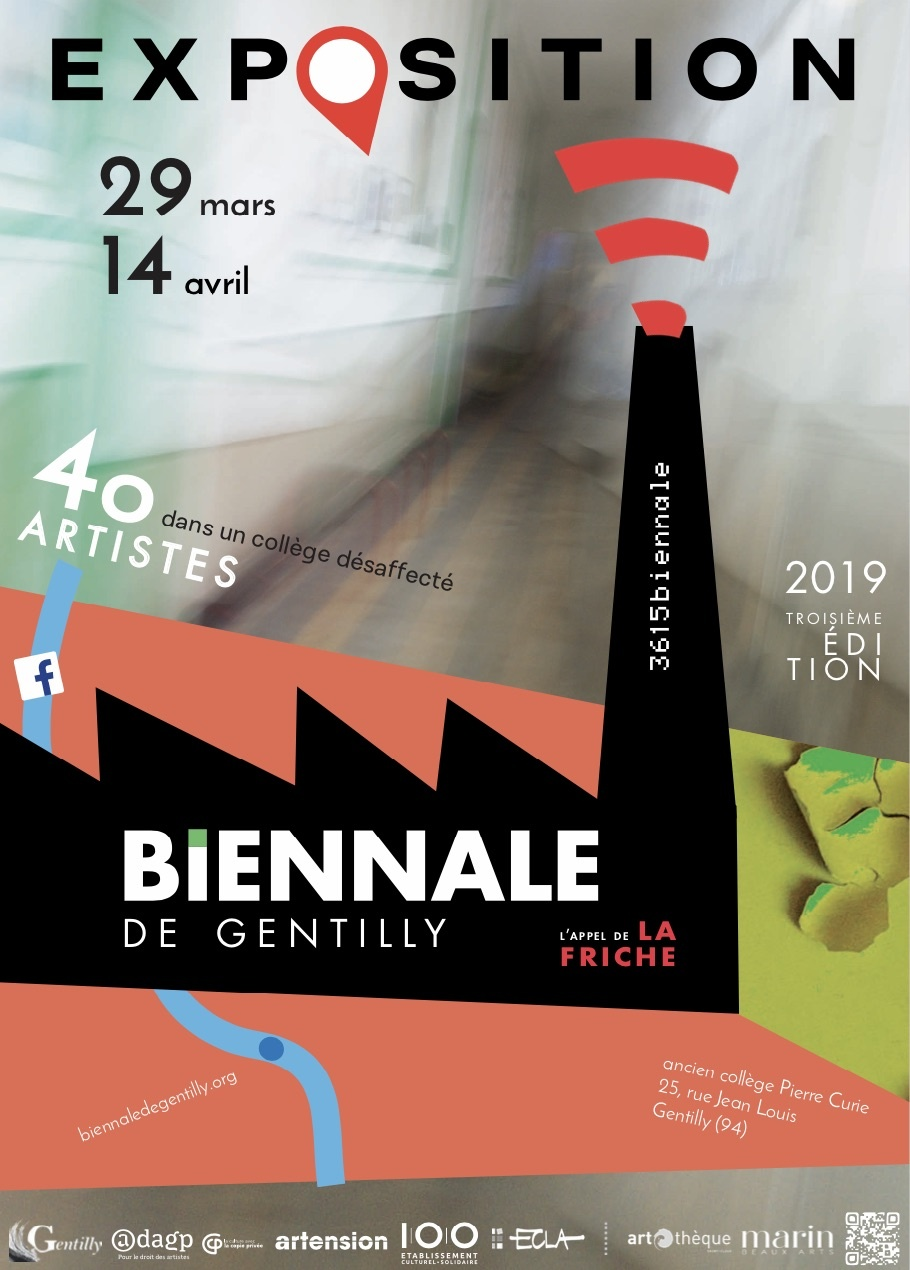 Biennale d'art contemporain de Gentilly du 29 mars au 14 avril 2019