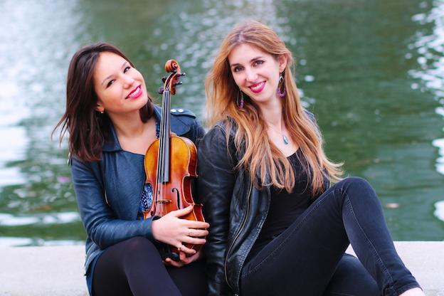 Raphaelle Moreau et Célia Oneto Bensaid © DR