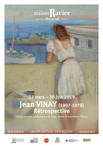 Exposition Jean Vinay (1907-1978), rétrospective, Maison Ravier, Morestel, du 23 mars au 30 juin 2019