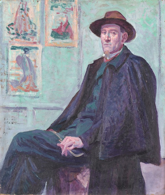 Maximilien Luce, Félix Fénéon, 1901, huile sur toile, 45,5 x 39 cm © musée d'Orsay, Paris
