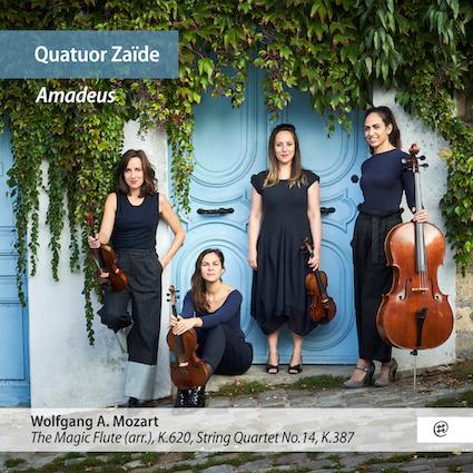 Le Quatuor Zaïde à l'occasion de ses 10 ans revient avec un album original « Amadeus », sortie le 12 avril 2019