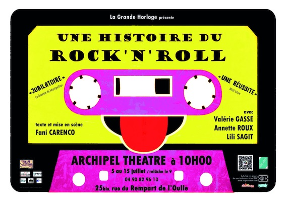 Une histoire du Rock'n'Roll au Festival OFF d'Avignon
