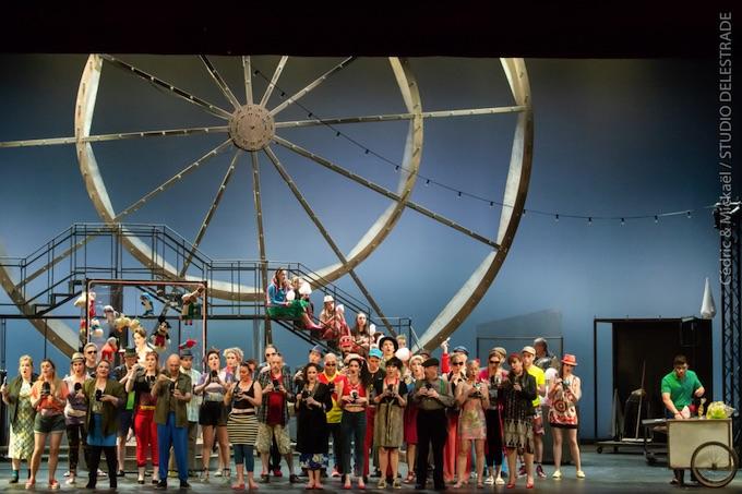 A l'Opéra d'Avignon Donizetti s'invite au Luna Park