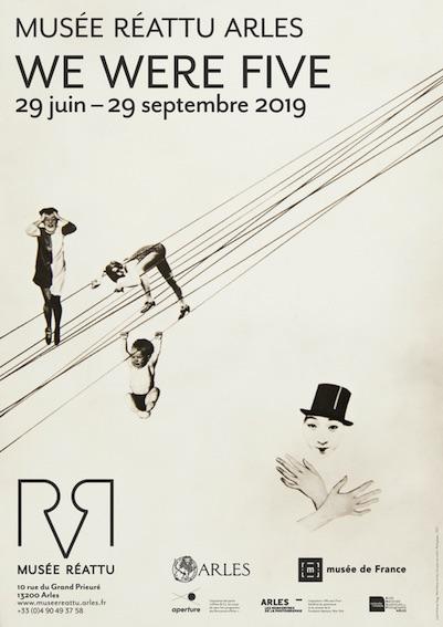 Exposition WE WERE FIVE - Cinq étudiants de l'Institute of Design et la revue Aperture. 29 juin – 29 septembre 2019