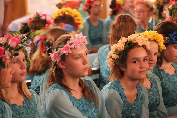 Vesna, le Printemps, joliment illustré par ce chœur russe © Pierre Aimar