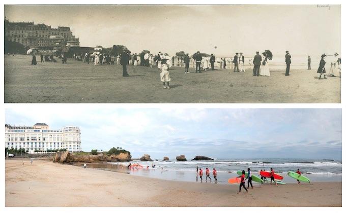 Exposition avant / après # 3 Côte Basque / Kostaldea  aitzin gero # 3