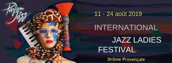 Parfum de jazz, festival de jazz en Drôme Provençale, du 11 au 24 août 19
