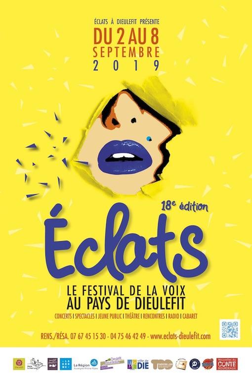 Eclats, festival de la voix au pays de Dieulefit du 2 au 8 septembre 2019