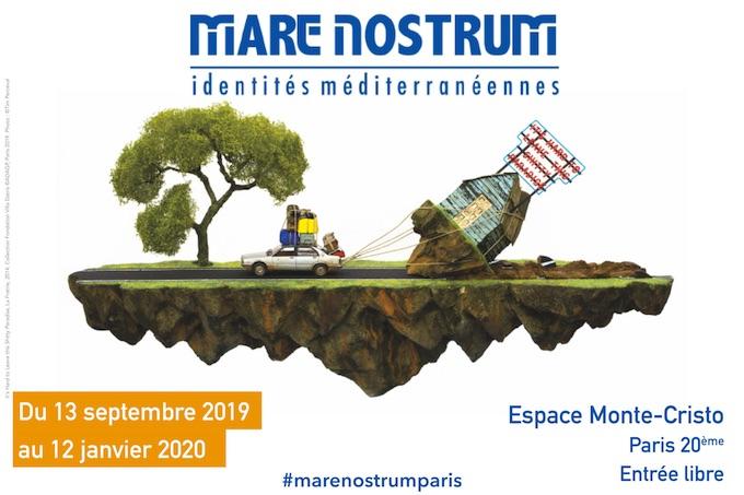 Mare Nostrum : identités méditerranéennes, exposition du 13 septembre 2019 au 12 janvier 2020, Fondation Villa Datris, Paris