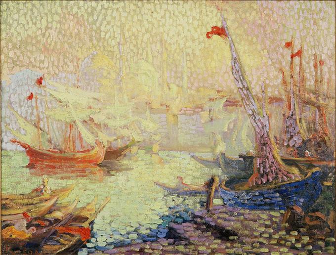 Person Henri, Le port d'Istanbul