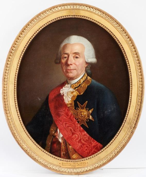 Charles-René Fourcoy de Ramecourt Rémi-Furcy © CPDAHS. Photo Thierry Ollivier
