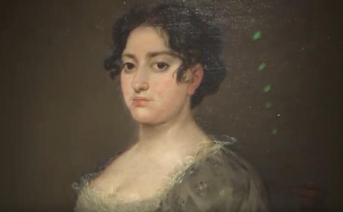 Goya, la Femme à l'éventail (extrait vidéo)