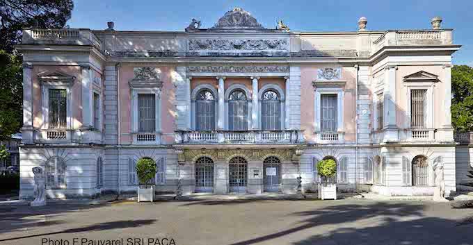 Le Palais de Carnolès © F. Pauvarel SRI PACA