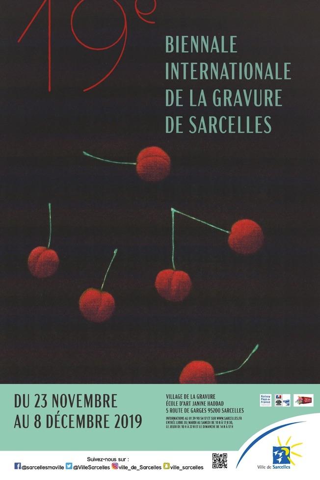 19e Biennale internationale de la Gravure de Sarcelles