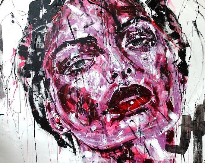 Exposition de l'artiste Lucile Callegari à la Galerie Deza, Roanne, du 9 au 23 novembre '19